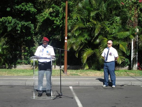 """Le docteur Paul Robert a été honoré à """"la Possession"""", ville de sa naissance située sur l'île de la Réunion"""