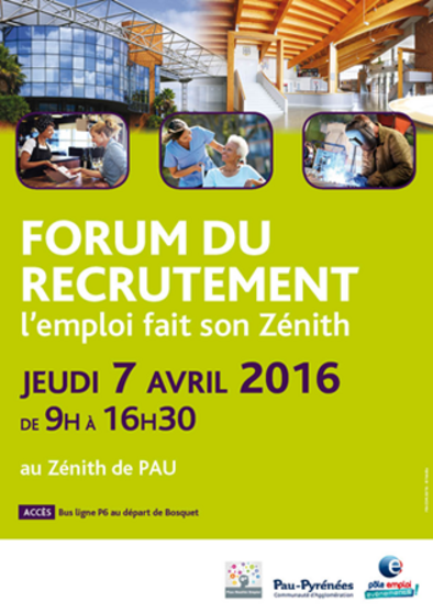 Forum du recrutement à Pau