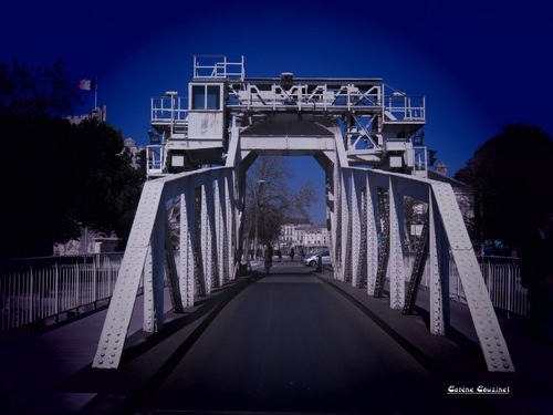 Le Pont levant du Gabut