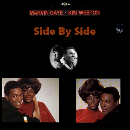 "Marvin Gaye Kim Weston & Mary Wells : Album "" Side By Side "" Tamla Records TM 260 [ US ] Unissued"