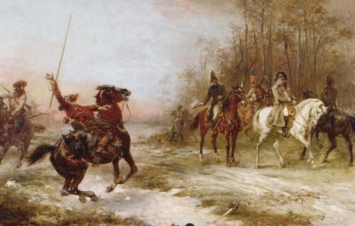 L'EMPEREUR RENCONTRE DES COSAQUES