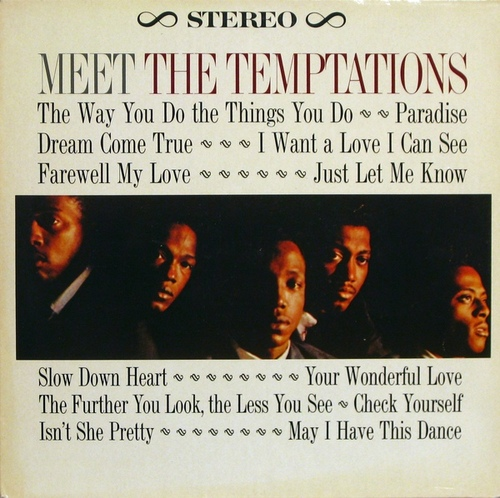 "The Temptations : Album "" Meet The Temptations "" Gordy Records G 911  [ US ]"