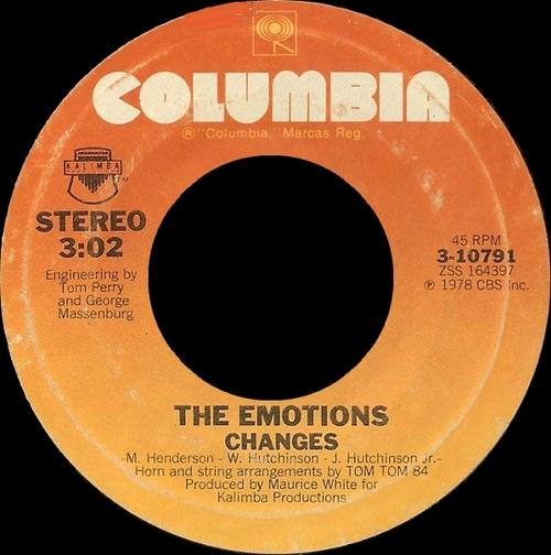 """The Emotions : Album """" Sunbeam """" Columbia Records JC 35385 [ US ]"""