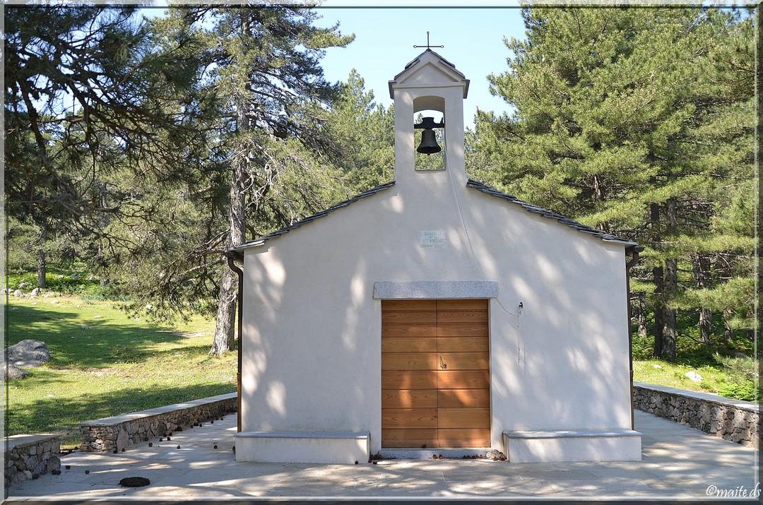 Chapelle de la Sainte-Vierge - Massif de Bavella - Corse