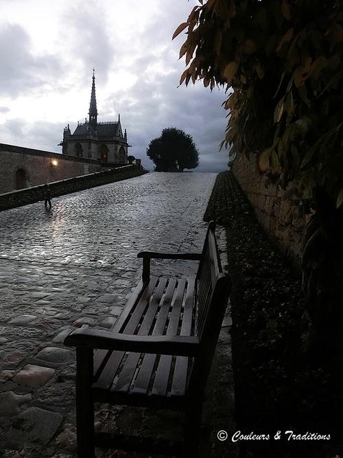 Chateau d'Amboise, l'entrée