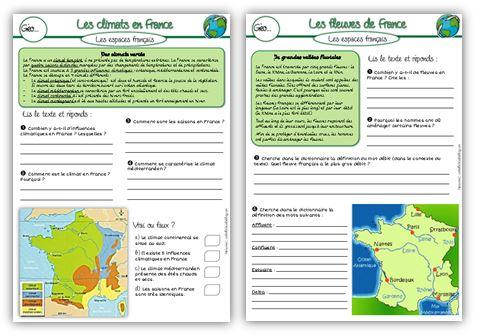MAJ : géographie CE2