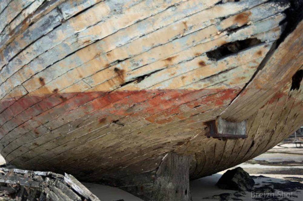 Magouër - Le cimetière à bateaux