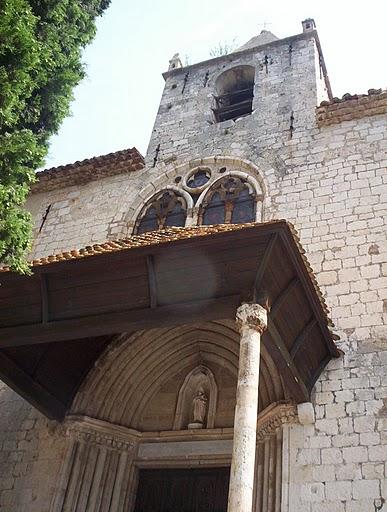 Moustiers Sainte Marie : La chapelle Notre-Dame de Beauvoir