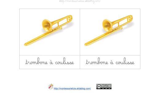 Nomenclatures : Les instruments de musique