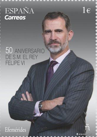 50 ans du roi Felipe le 30 Janvier