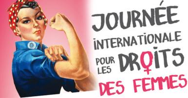 8 mars : journée internationale des droits de la femme