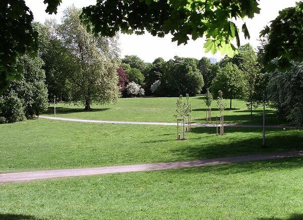 Le Parc Clara-Zedkin de Leipzig - WGT