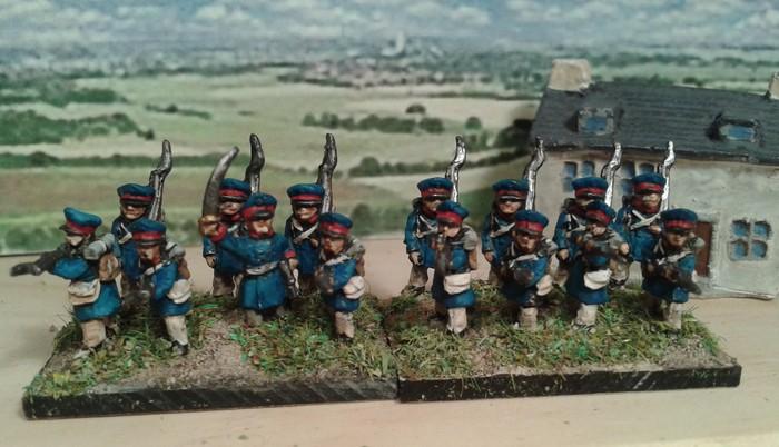 Tactique 1814 dernière Landwher