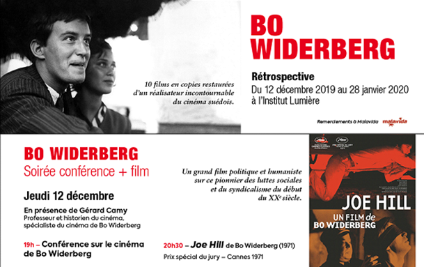 Bo Widerberg rétrospective à Lyon