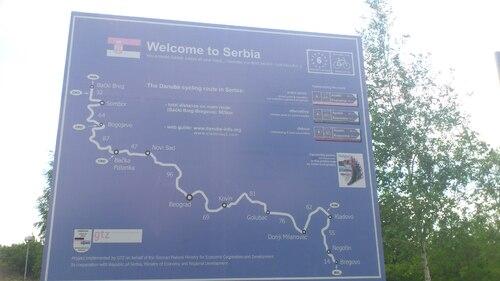 arrivée en Serbie