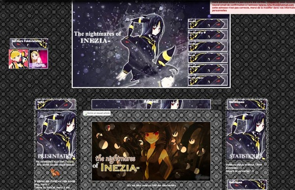 "Thème Noctali ""The nightmares of Inezia-"" (by Reila38)"