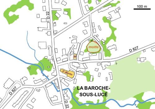LES REMPARTS DE LA BAROCHE ET DE LUCE (Orne)