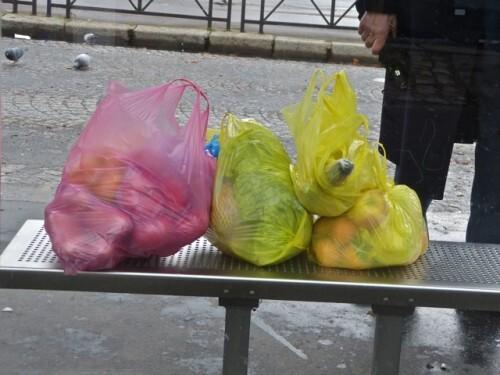 sacs plastiques couleur 5