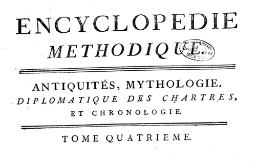 encyclopedie methodique borne meta