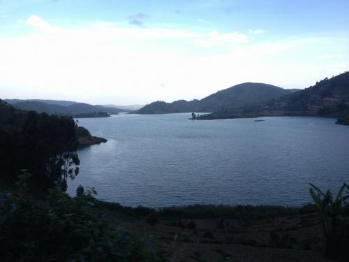 Parada en Lake Bunyonyi...