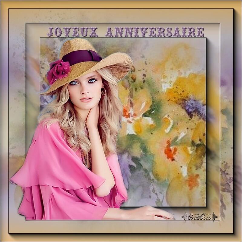 ♥ merci ma  douce COLETTE pour ce très joli cadeau pour mon anniversaire ♥