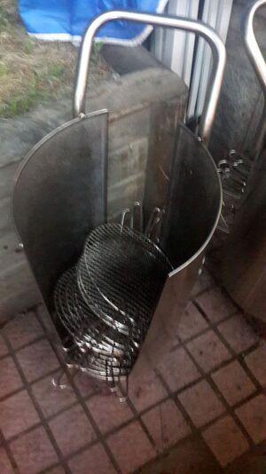 Un autre type de barbecue
