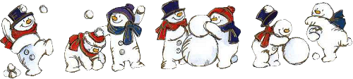 Tubes bonhommes de neige