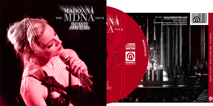 The MDNA Tour - Full Audio Rome