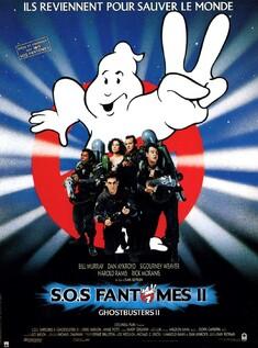SOS FANTOMES 2 BOX OFFICE FRANCE 1989