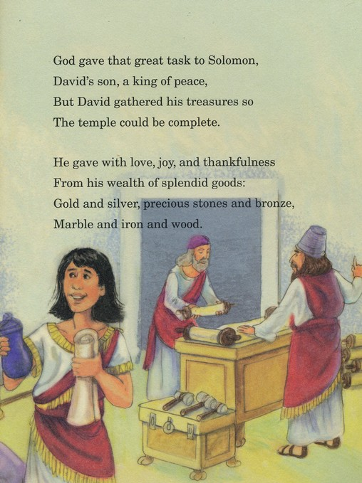 Solomon Builds a Temple
