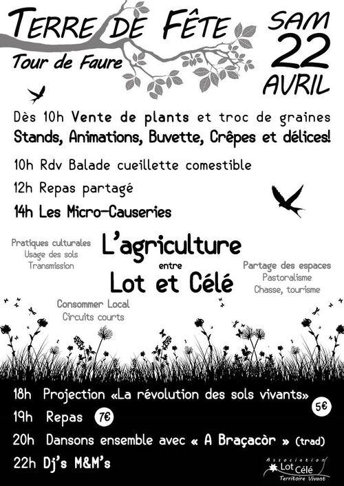 22 Avril 2017 Fête de la terre TOUR DE FAURE Par livronaturel