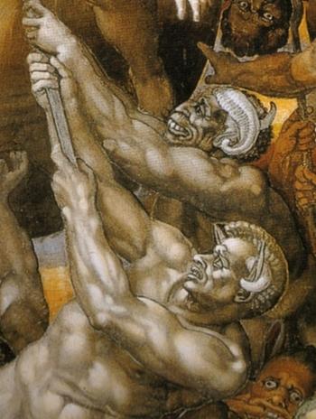 'Giudizio Universale' Michelangelo Buonarroti