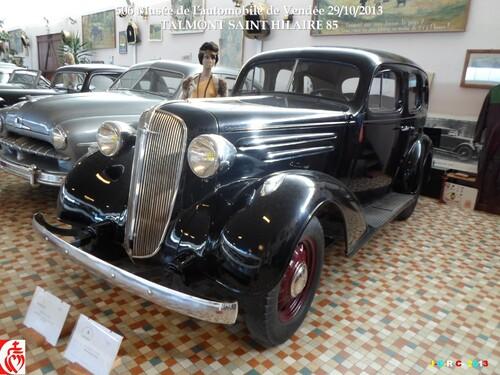 MUSÉE DE L'AUTOMOBILE DE VENDÉE 5/6 ST HILAIRE TALMONT VAC 09/10.2013   05/02/2014
