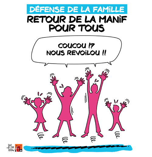 Billet Rouge- Leur défense de la famille et la nôtre. Par Floréal – . (IC.fr-9/10/16)