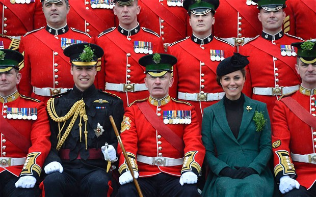 Kate, William et la Saint Patrick