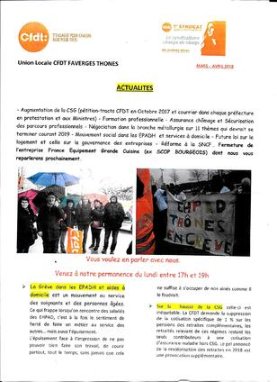 ACCUEIL UL CFDT FAVERGES