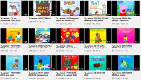 Des albums jeunesse lus en vidéo