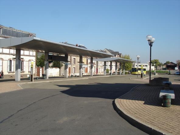 La nouvelle gare de Dreux