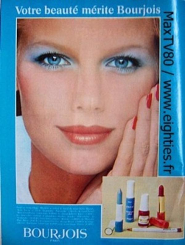 Maquillage des années 1980