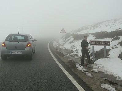 sierra nevada 2500m