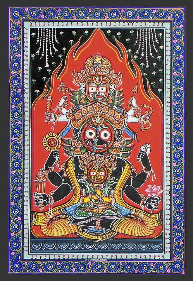 odisha pattachitra painting
