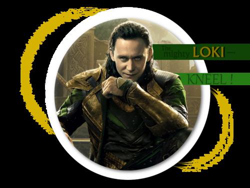 The Mighty Loki- STICK