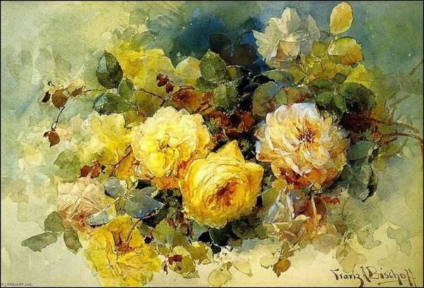 Peinture de : Franz Bischoff