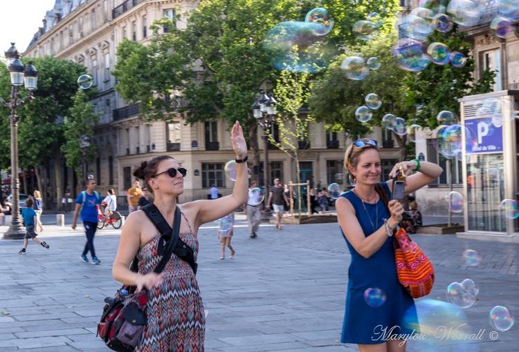Paris : Bulles de savon