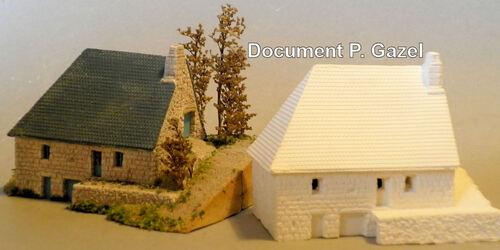 P. Gazel - Maison de garde forestier