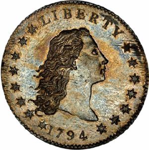UNE PIECE DE 1 DOLLAR DE 1794 EST LA PIECE LA PLUS CHERE AU MONDE