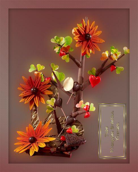 Fleurs en chocolat (01 à 14)