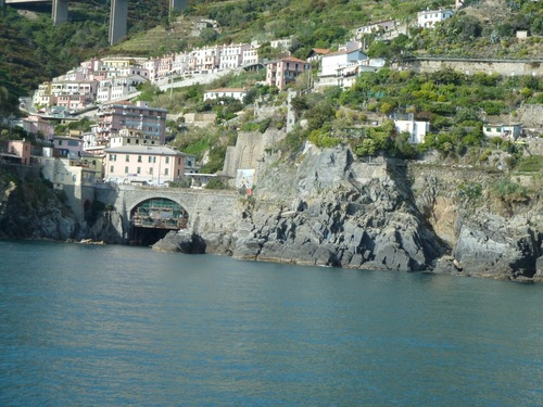 Jour 3 retour en bateau de Porto Vénère à Levanto