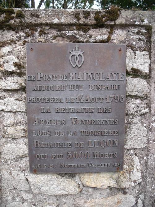 Le Pont de Mainclaye