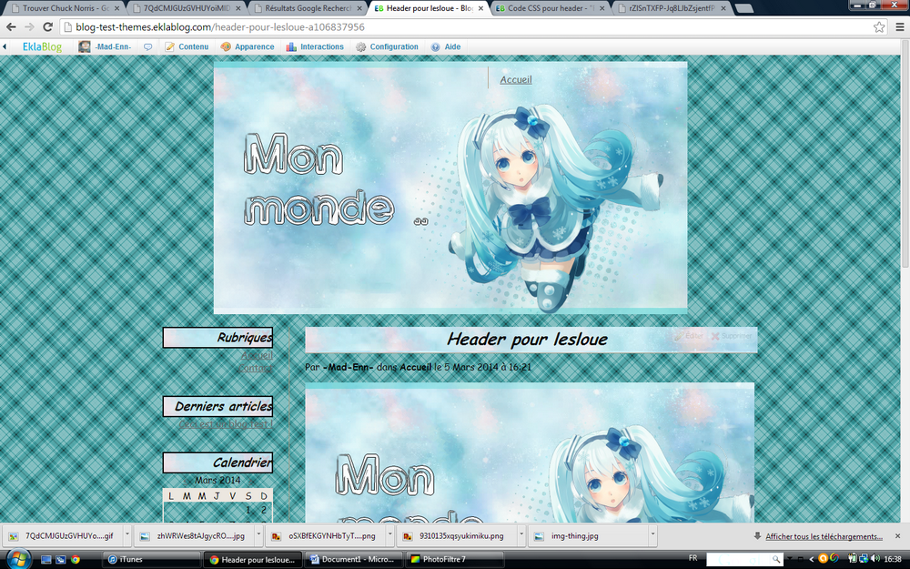 Libre Service : Miku Winter ..